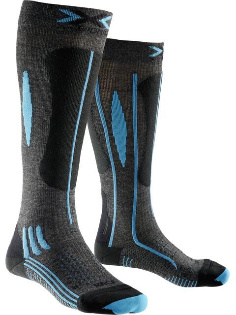 X-Bionic Effektor Ski Race - Calcetines Mujer - gris